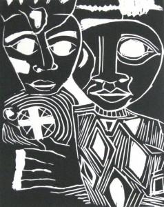 African Couple, Drew Gertner