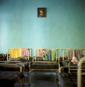 Mary Over Beds, Orphanage Series, Vanessa Ruiz