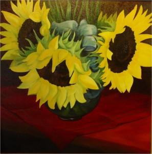 Sunflowers, Jill Kantor