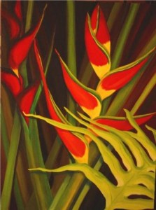 Heliconia, Jill Kantor