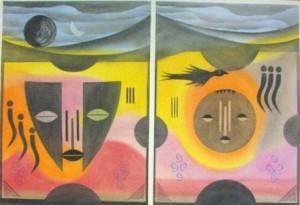 Bird with Masks, D. Matshidiso
