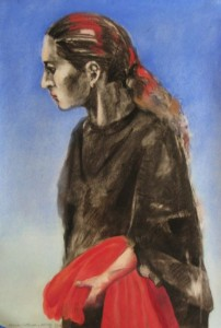 Ursula, Gregory Kerr, Pastel on Paper
