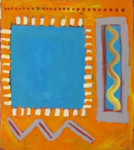Turquoise & Orange, Janet Paparelli
