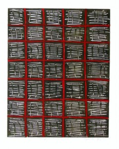 Red Grid, Janet Paparelli
