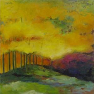Fall Landscape, Jill Kantor
